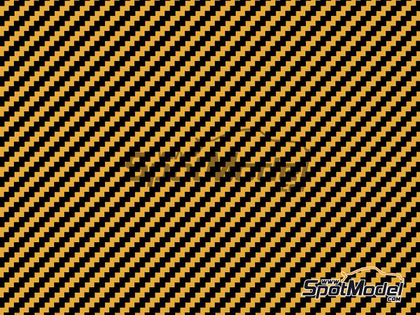 Image 1: Twill wave kevlar pattern | Decals in 1/24 scale manufactured by Shunko Models (ref. SHK-D317)