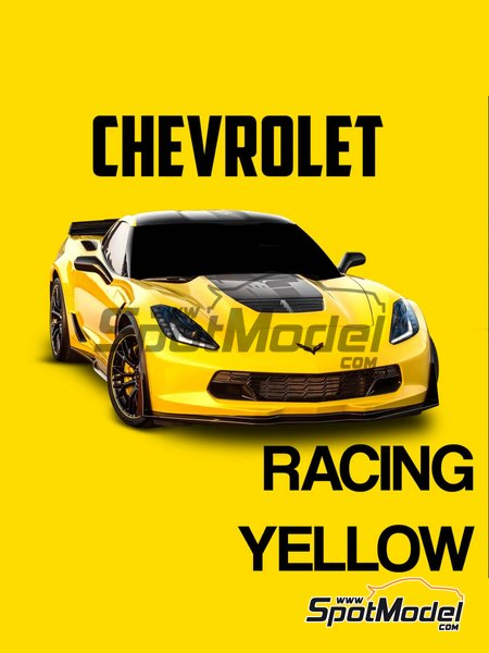 Chevrolet Racing Yellow | Paint manufactured by Splash Paints (ref. SP-006) image