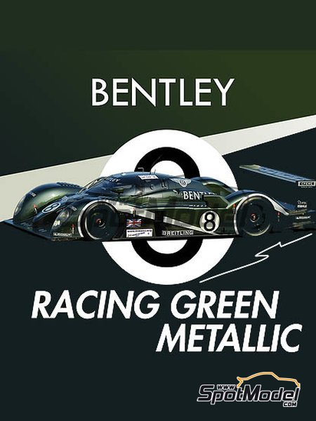 Bentley Racing Green Metallic - 1 x 30ml | Paint manufactured by Splash Paints (ref. SP-121) image