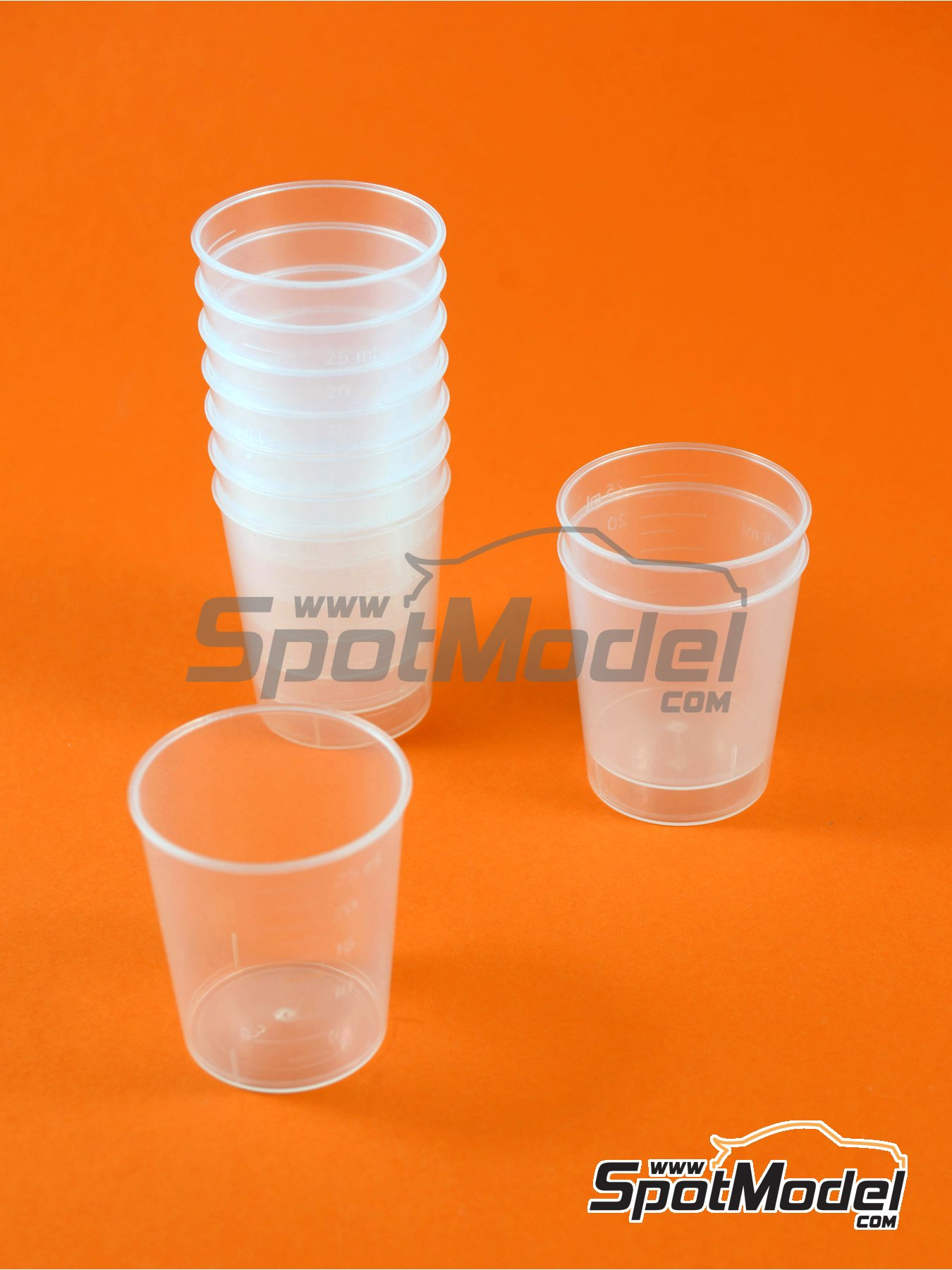 Paint cup for mixing and measuring | Tools manufactured by SpotModel (ref. SPOT-007) image