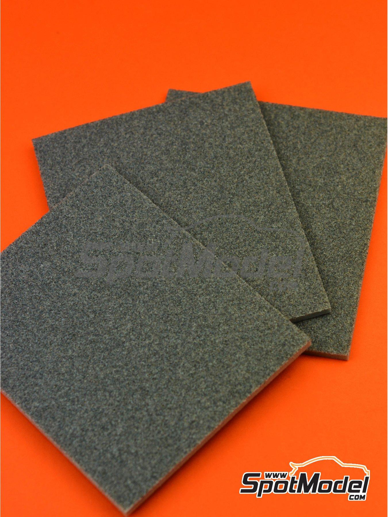 Medium grade sanding sponge (180 grit) | Sandpaper manufactured by SpotModel (ref.SPOT-012) image