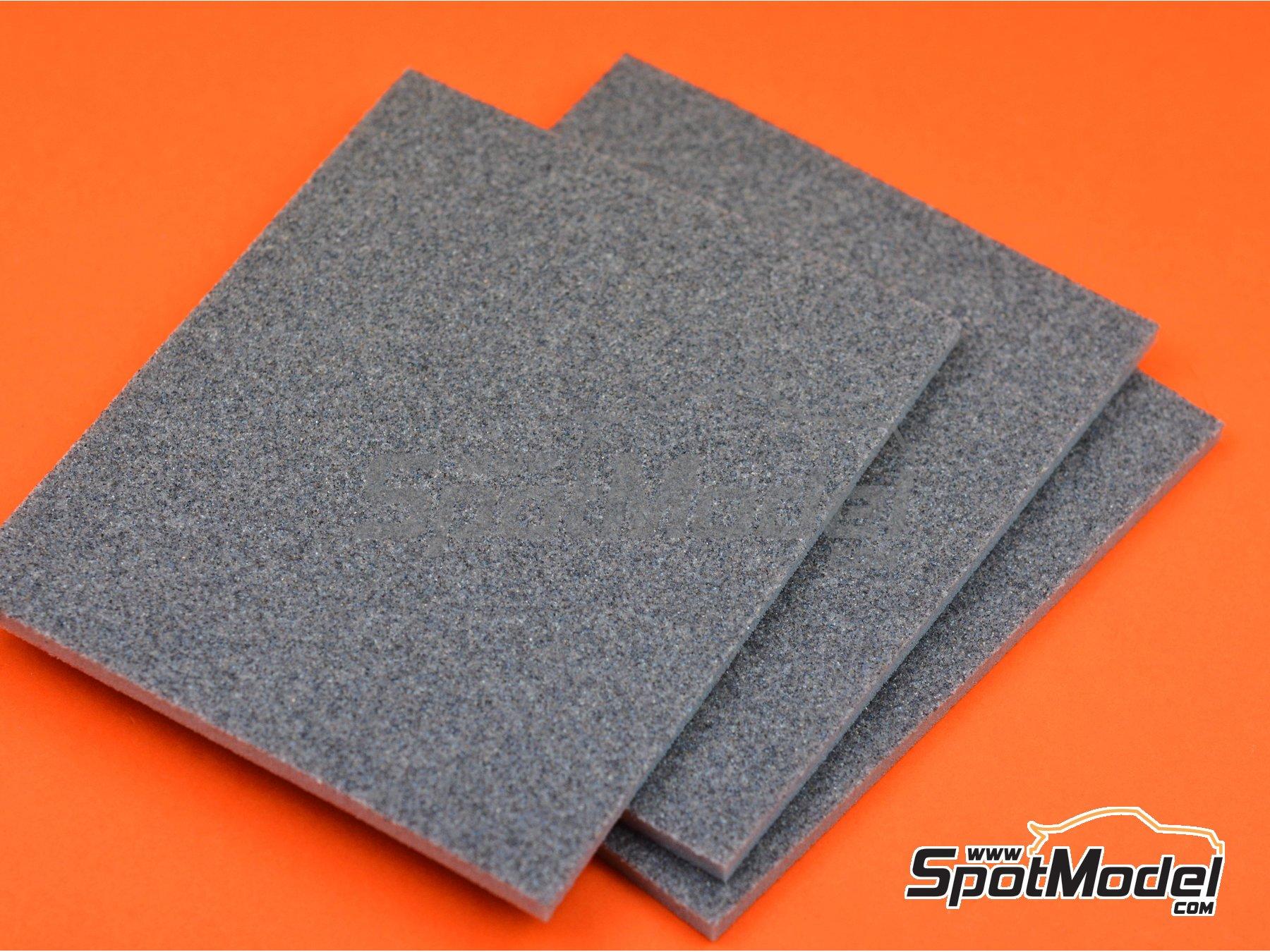 Image 1: Medium grade sanding sponge (180 grit) | Sandpaper manufactured by SpotModel (ref.SPOT-012)