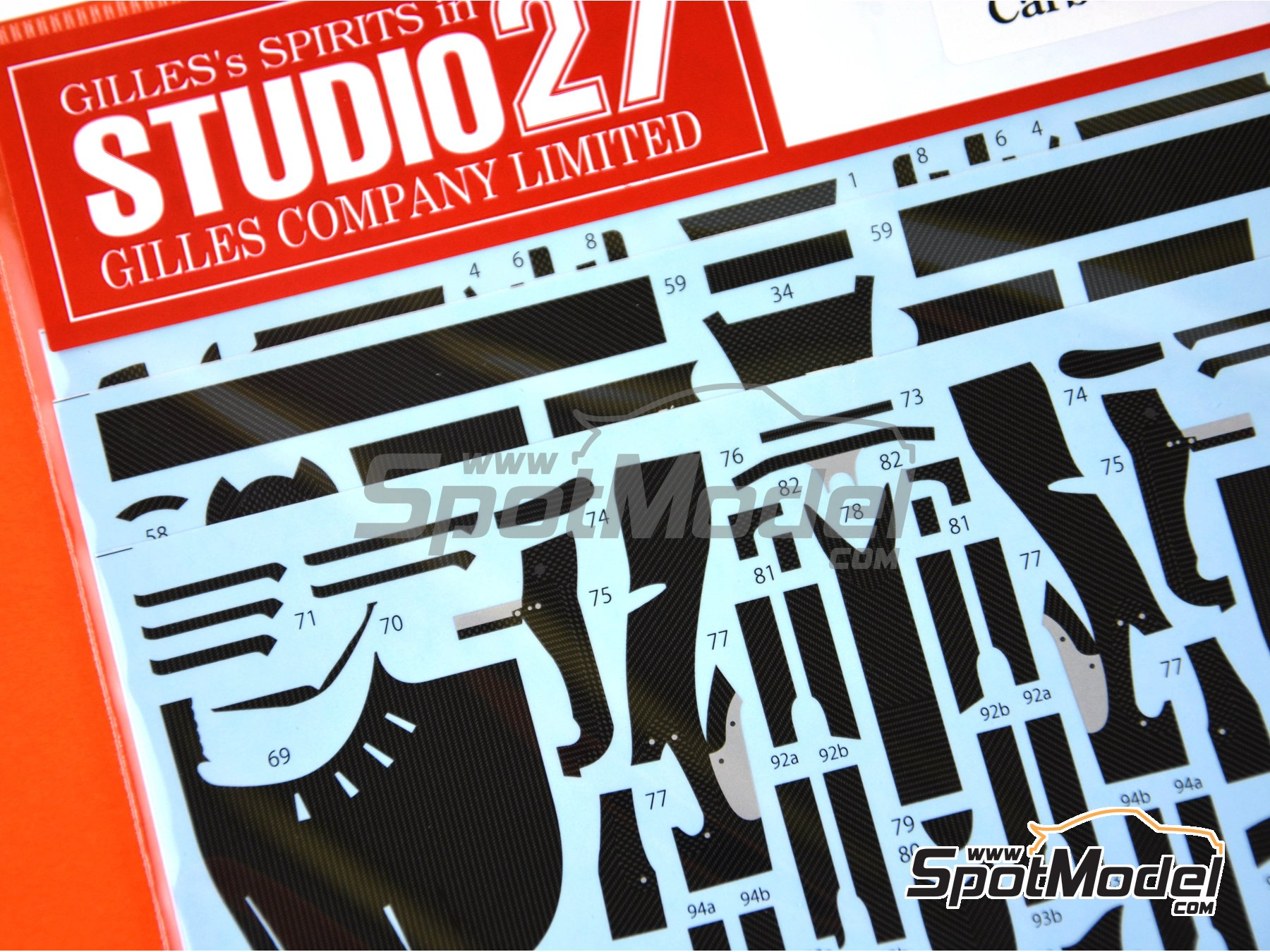 Image 5: McLaren Honda MP4/31 - FIA Formula 1 World Championship 2016 | Carbon fibre pattern decal in 1/20 scale manufactured by Studio27 (ref. ST27-CD20042)