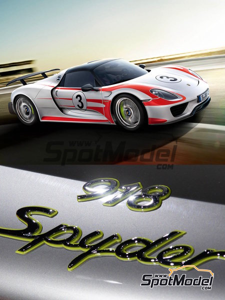 Porsche 918 Spyder Salzburg | Marking / livery in 1/24 scale manufactured by Studio27 (ref. ST27-DC1117) image