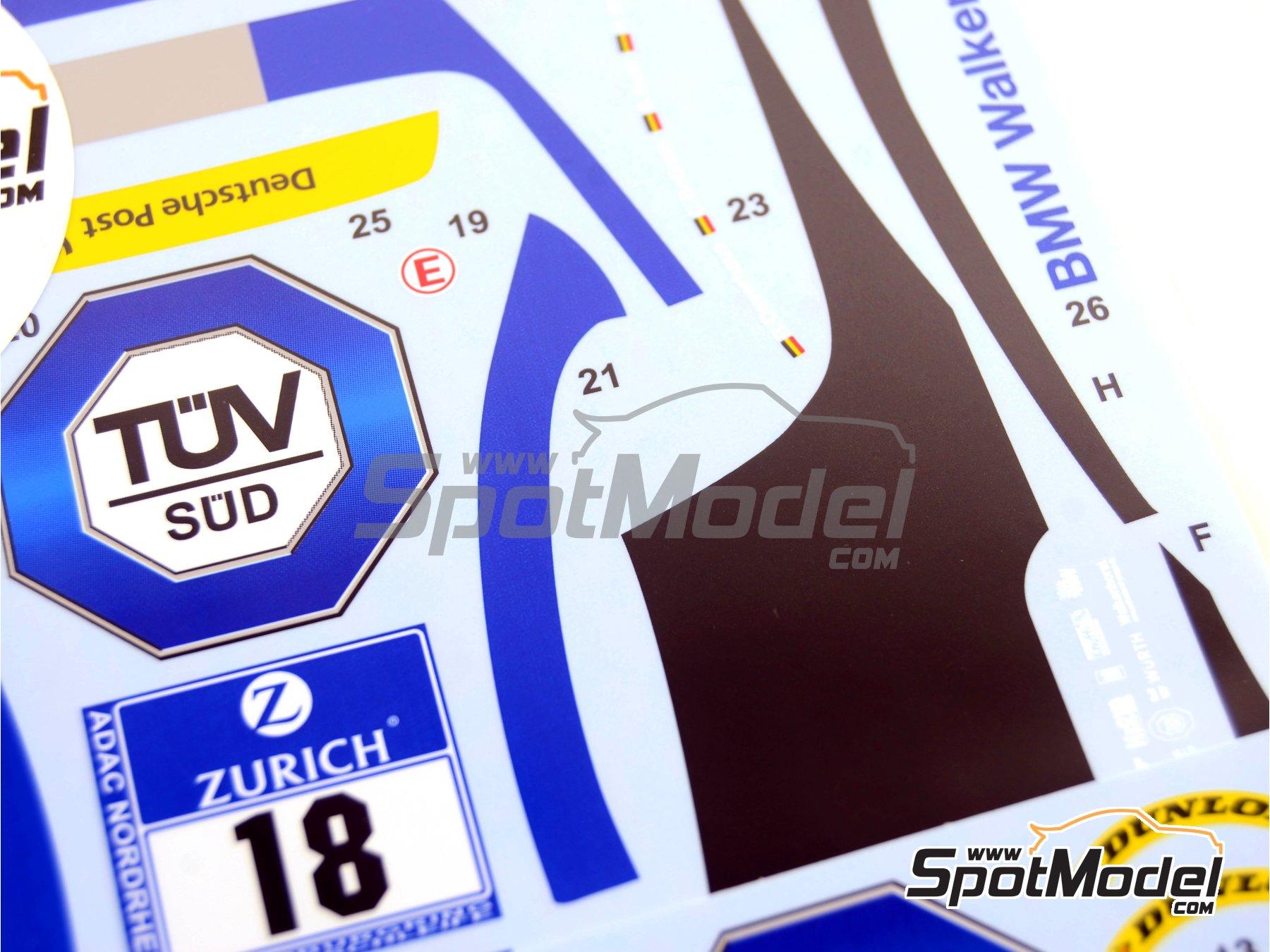 Image 7: BMW Z4 GT3 Walkenhorst Mortorsport - 24 Hours Nürburgring 2015 | Marking / livery in 1/24 scale manufactured by Studio27 (ref.ST27-DC1133)