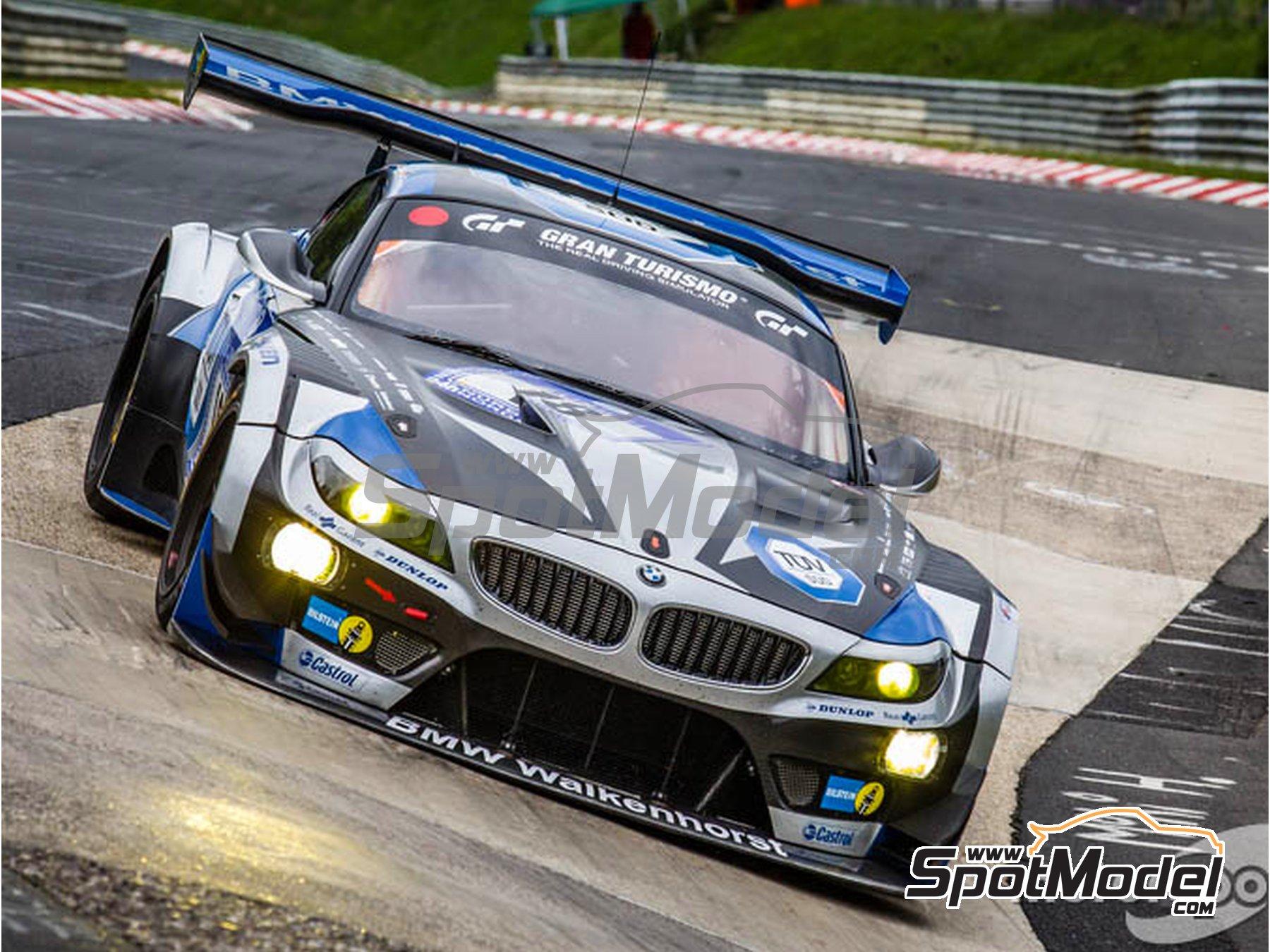 Image 10: BMW Z4 GT3 Walkenhorst Mortorsport - 24 Hours Nürburgring 2015 | Marking / livery in 1/24 scale manufactured by Studio27 (ref.ST27-DC1133)