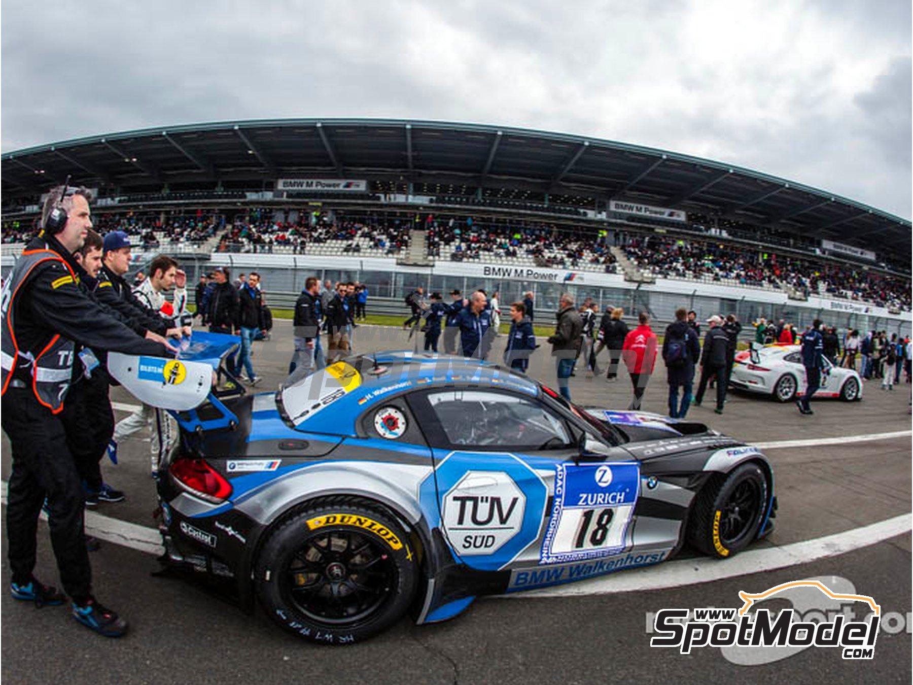 Image 11: BMW Z4 GT3 Walkenhorst Mortorsport - 24 Hours Nürburgring 2015 | Marking / livery in 1/24 scale manufactured by Studio27 (ref.ST27-DC1133)