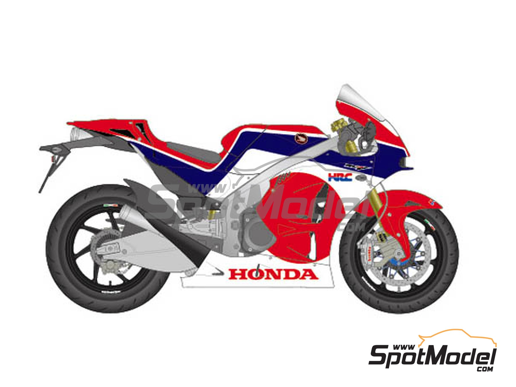 Image 2: Honda RC213V-S | Marking / livery in 1/12 scale manufactured by Studio27 (ref. ST27-DC1162)
