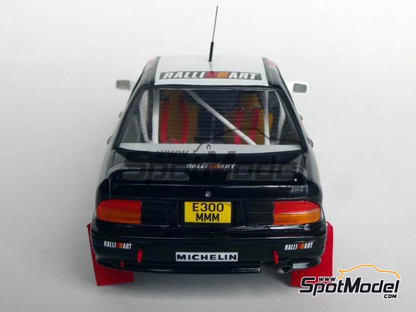 Image 4: Mitsubishi Galant VR-4 Ralli Art - Great Britain RAC Rally 1988 | Marking / livery in 1/24 scale manufactured by Studio27 (ref. ST27-DC1188)