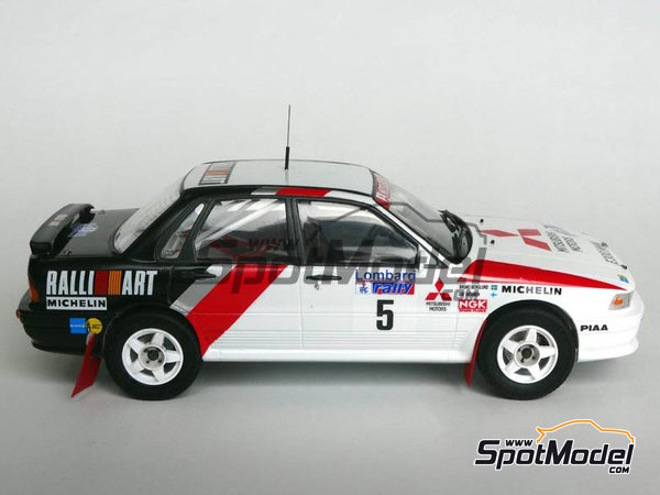 Image 6: Mitsubishi Galant VR-4 Ralli Art - Great Britain RAC Rally 1988 | Marking / livery in 1/24 scale manufactured by Studio27 (ref. ST27-DC1188)