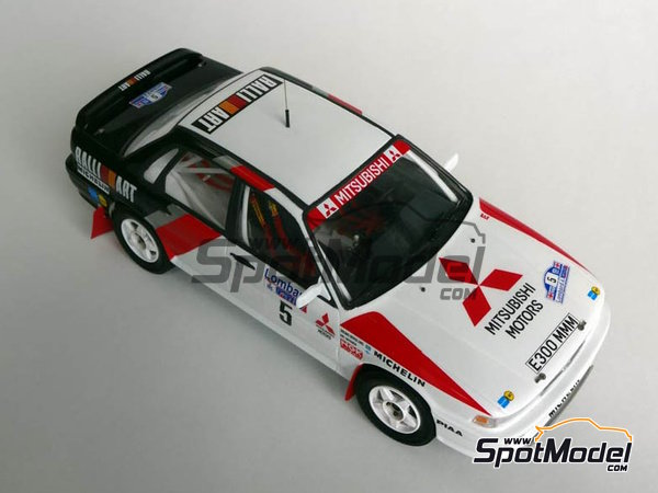 Image 7: Mitsubishi Galant VR-4 - RAC Rally 1988 | Marking / livery in 1/24 scale manufactured by Studio27 (ref. ST27-DC1188)