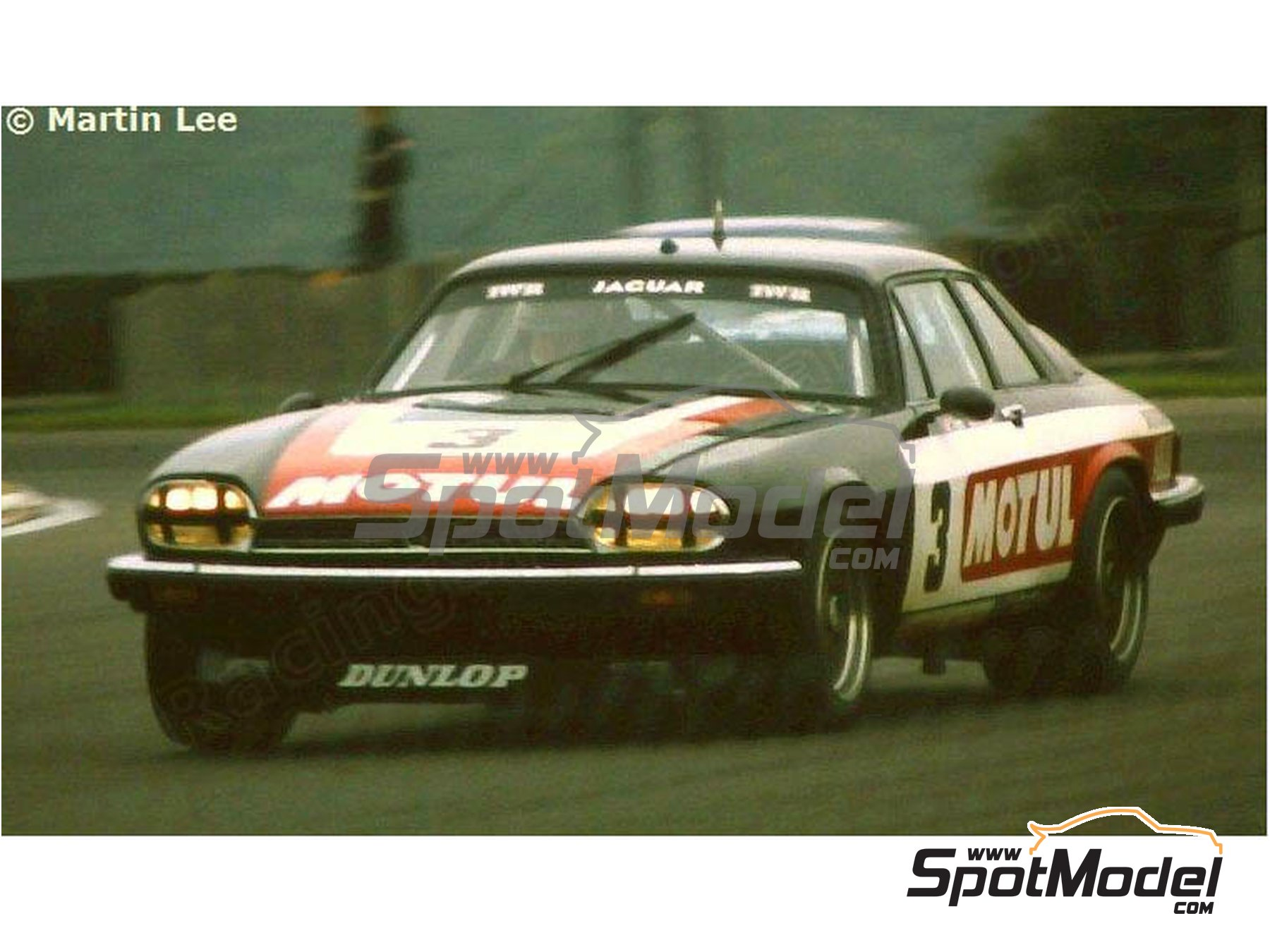 Image 3: Jaguar XJ-S Motul Akai - RAC Tourist Trophy 1982 | Marking / livery in 1/24 scale manufactured by Studio27 (ref. ST27-DC1201)