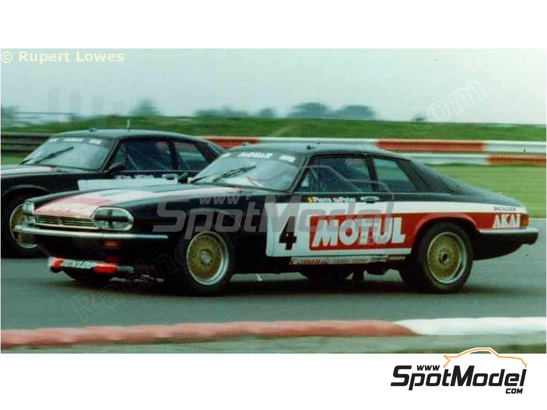 Image 4: Jaguar XJ-S Motul Akai - RAC Tourist Trophy 1982 | Marking / livery in 1/24 scale manufactured by Studio27 (ref. ST27-DC1201)