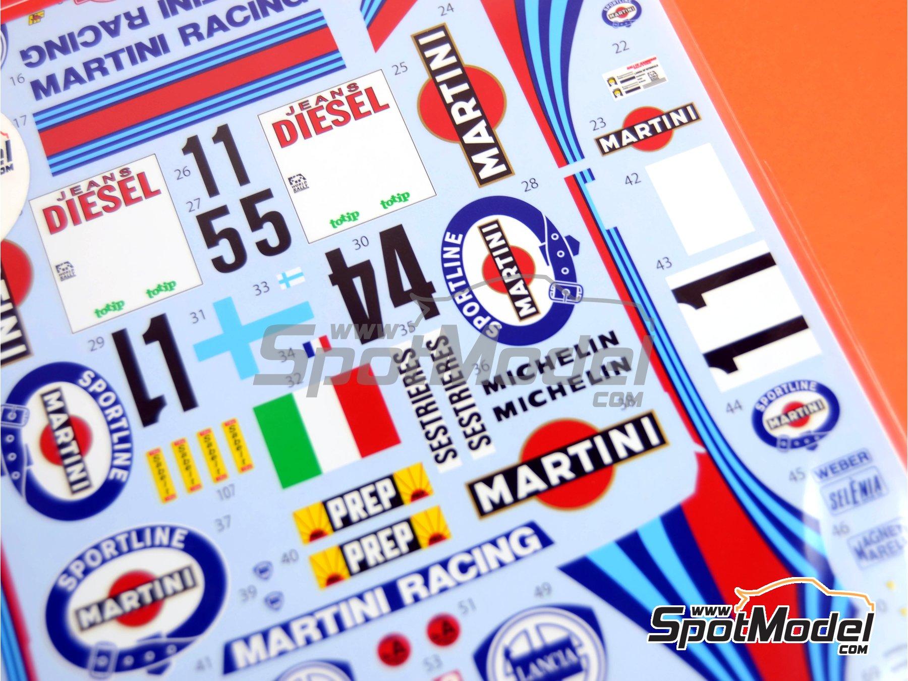 Image 4: Lancia Super Delta Deltona HF Integrale Marlboro - Rally de Montecarlo - Rallye Automobile de Monte-Carlo, Rally de San Remo 1992 | Decoración en escala1/24 fabricado por Studio27 (ref.ST27-DC606D)
