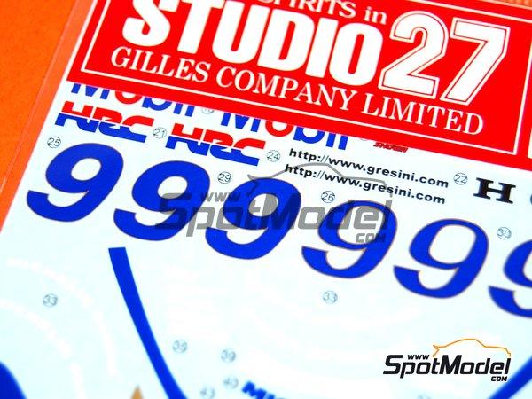Image 3: Honda NSR500 - Campeonato del Mundo de Motociclismo 1998 | Decoración en escala1/12 fabricado por Studio27 (ref.ST27-DC808)