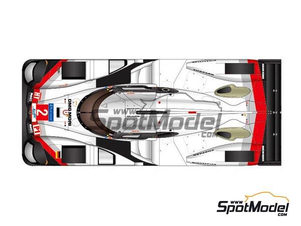 Image 1: Porsche 919 Hybrid DMG Mori - 24 Hours Le Mans 2017 | Model car kit in 1/24 scale manufactured by Studio27 (ref.ST27-FD24015)