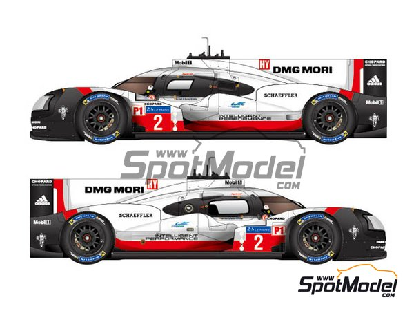Image 2: Porsche 919 Hybrid - 24 Hours Le Mans 2017 | Model car kit in 1/24 scale manufactured by Studio27 (ref. ST27-FD24015)