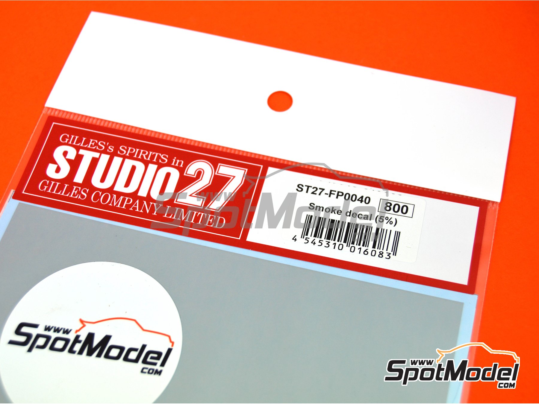 Image 3: Transparent smoked tone 5% | Decals manufactured by Studio27 (ref. ST27-FP0040)