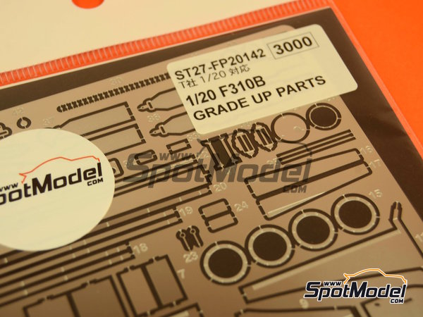 Image 3: Ferrari F310B | Detail up set in 1/20 scale manufactured by Studio27 (ref.ST27-FP20142)