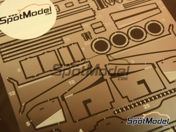 Image 4: Ferrari F310B | Detail up set in 1/20 scale manufactured by Studio27 (ref.ST27-FP20142)