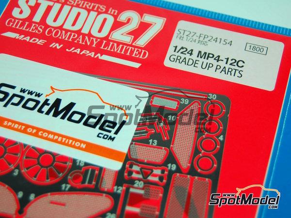 Image 2: McLaren MP4-12C GT3 | Set de mejora y detallado en escala1/24 fabricado por Studio27 (ref.ST27-FP24154)