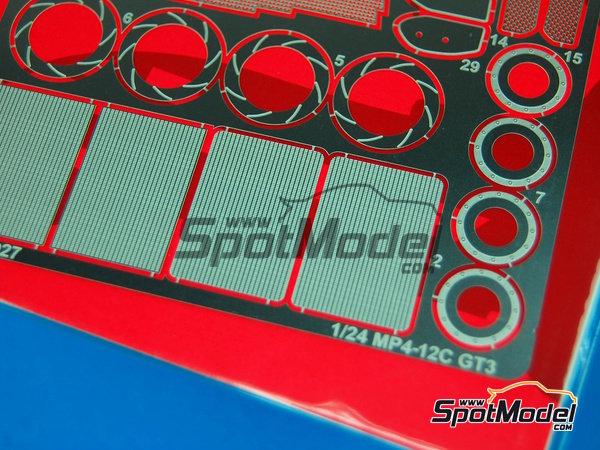 Image 4: McLaren MP4-12C GT3 | Set de mejora y detallado en escala1/24 fabricado por Studio27 (ref.ST27-FP24154)