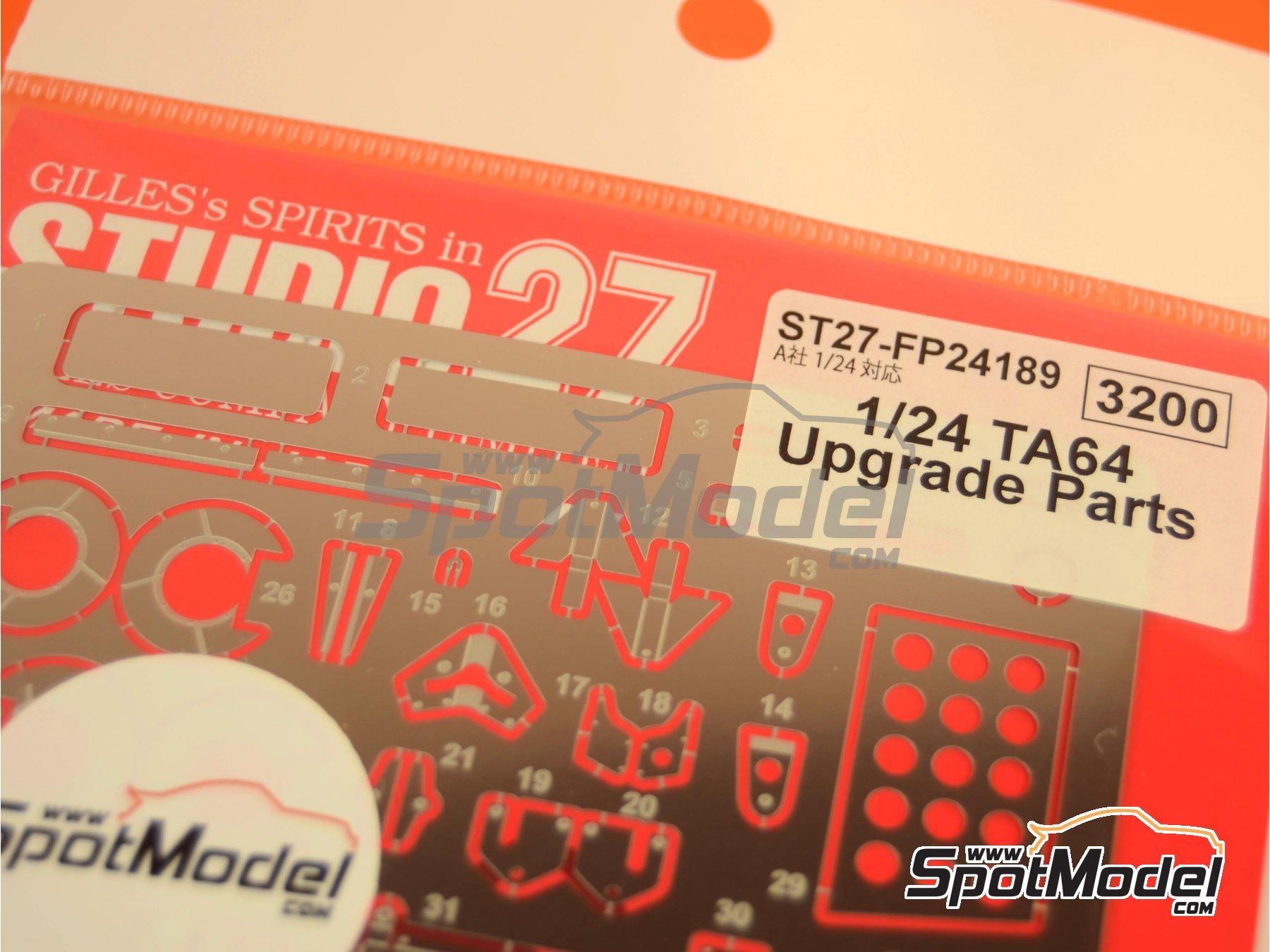 Image 1: Toyota TA64 Celica | Fotograbados en escala1/24 fabricado por Studio27 (ref.ST27-FP24189)