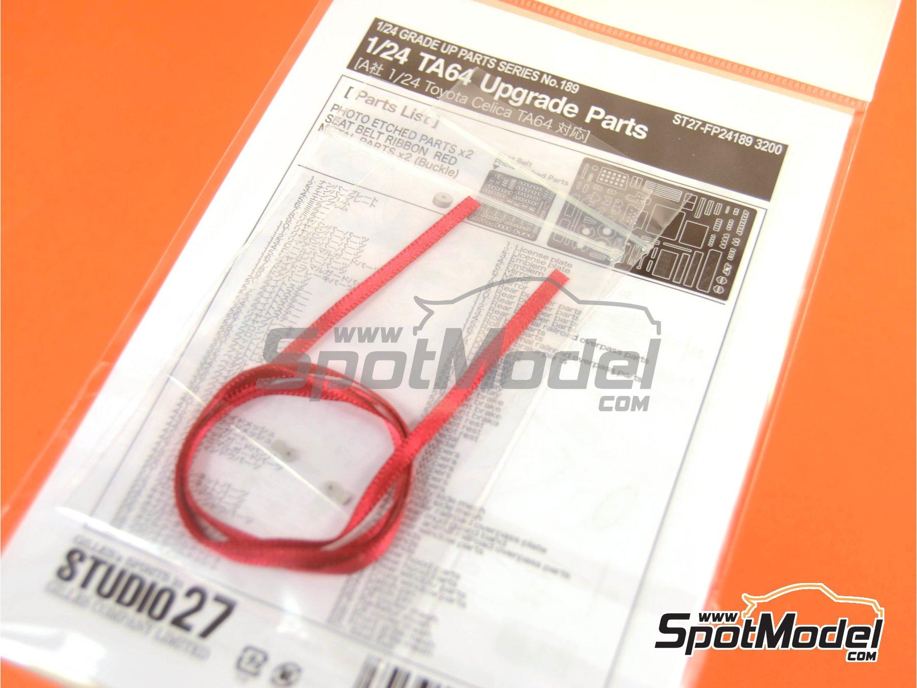 Image 6: Toyota TA64 Celica | Fotograbados en escala1/24 fabricado por Studio27 (ref.ST27-FP24189)