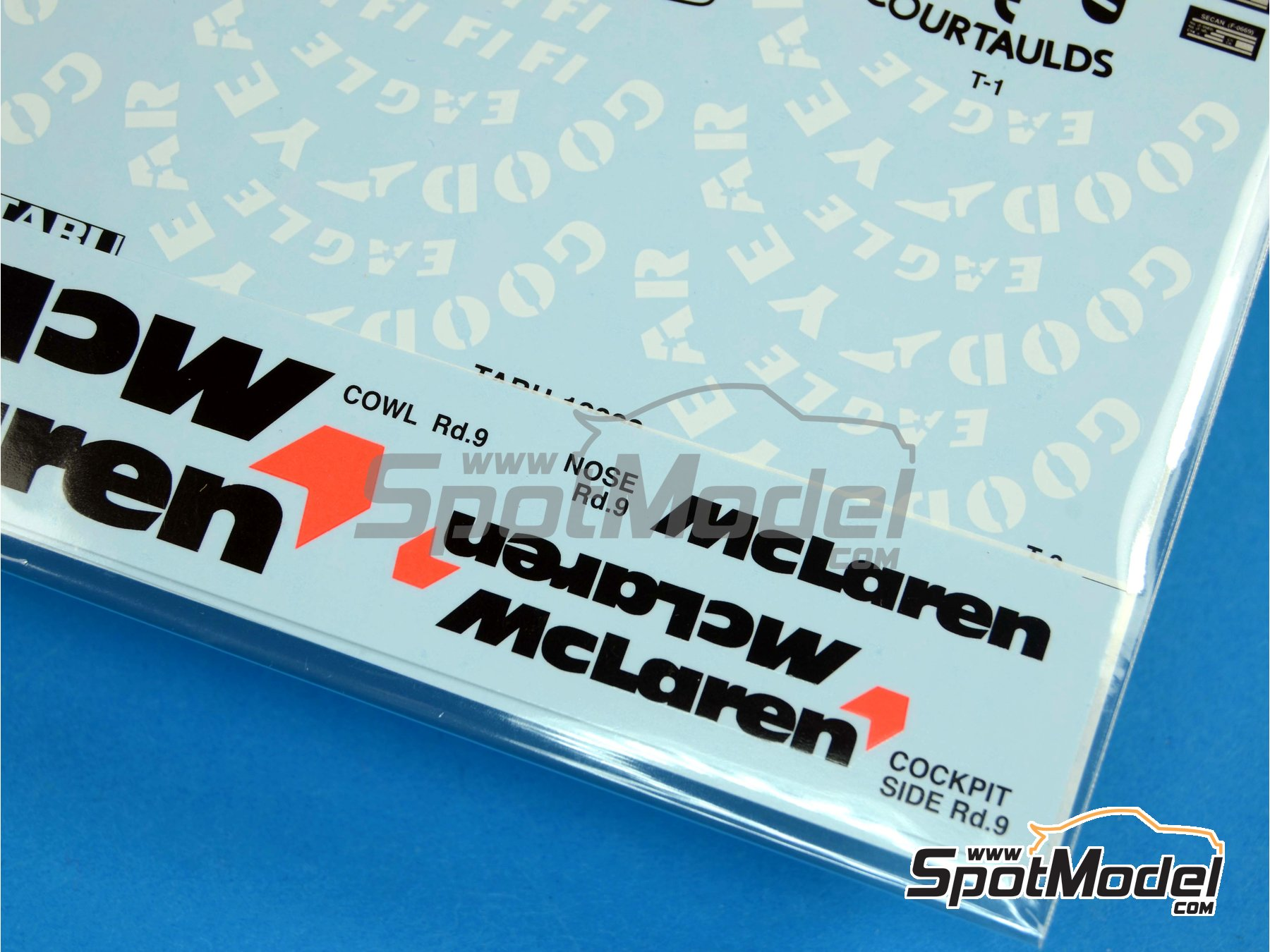 Image 5: McLaren Honda MP4/6 Marlboro - FIA Formula 1 World Championship 1991 | Marking / livery in 1/12 scale manufactured by Tabu Design (ref. TABU12028)