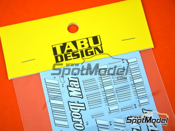 Image 1: Ferrari F2007 - FIA Formula 1 World Championship 2007 | Marking / livery in 1/20 scale manufactured by Tabu Design (ref. TABU20054)