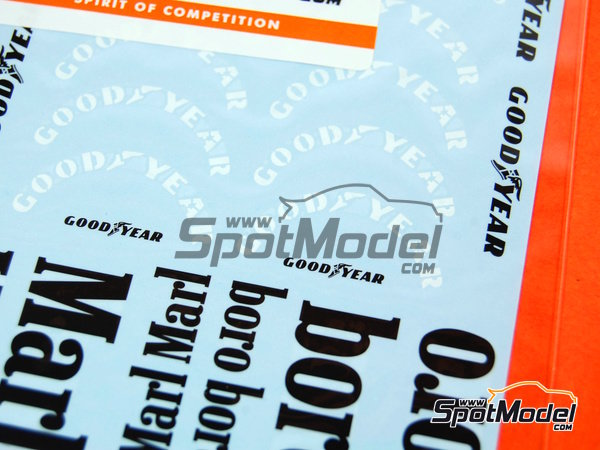 Image 2: McLaren Ford M23 Marlboro - FIA Formula 1 World Championship | Marking / livery in 1/20 scale manufactured by Tabu Design (ref. TABU20085)