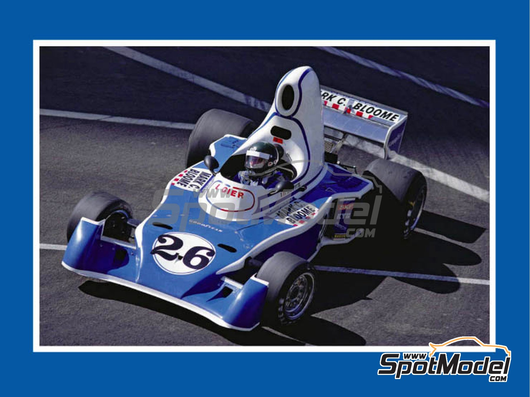 Image 1: Ligier Matra JS5 - Gran Premio de USA West Long Beach 1976 | Decoración en escala 1/43 fabricado por Tameo Kits (ref. DK-SLK101)
