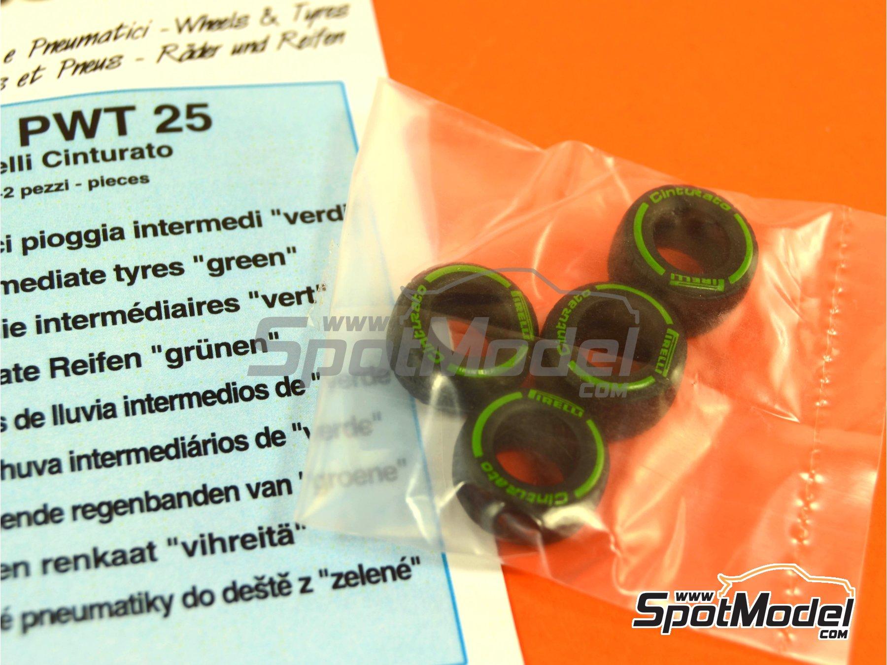 Image 4: Pirelli Cinturato Green | Neumáticos en escala1/43 fabricado por Tameo Kits (ref.PWT25)