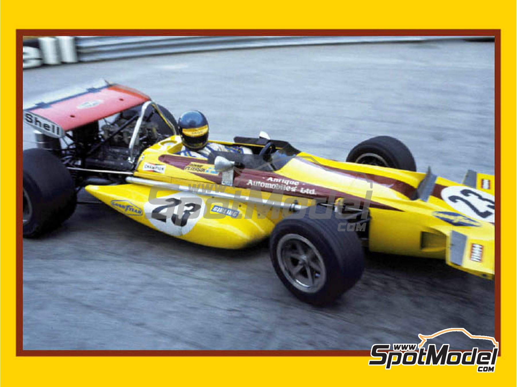Image 1: March Ford 701 - Monaco Grand Prix 1970 | Model car kit in 1/43 scale manufactured by Tameo Kits (ref. SLK102)