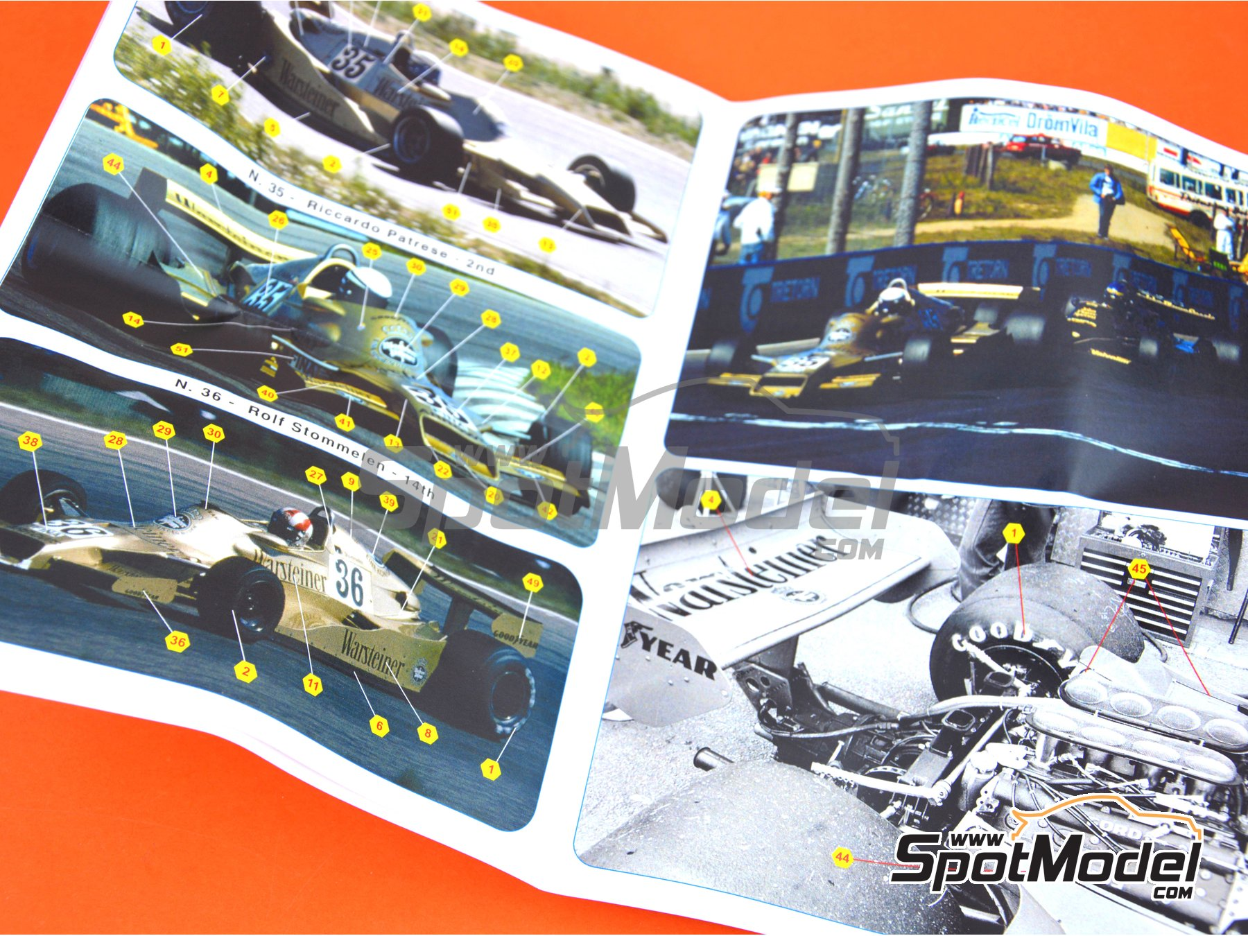 Image 5: Arrows Ford FA1 - Swedish Grand Prix 1978 | Model car kit in 1/43 scale manufactured by Tameo Kits (ref. SLK106)