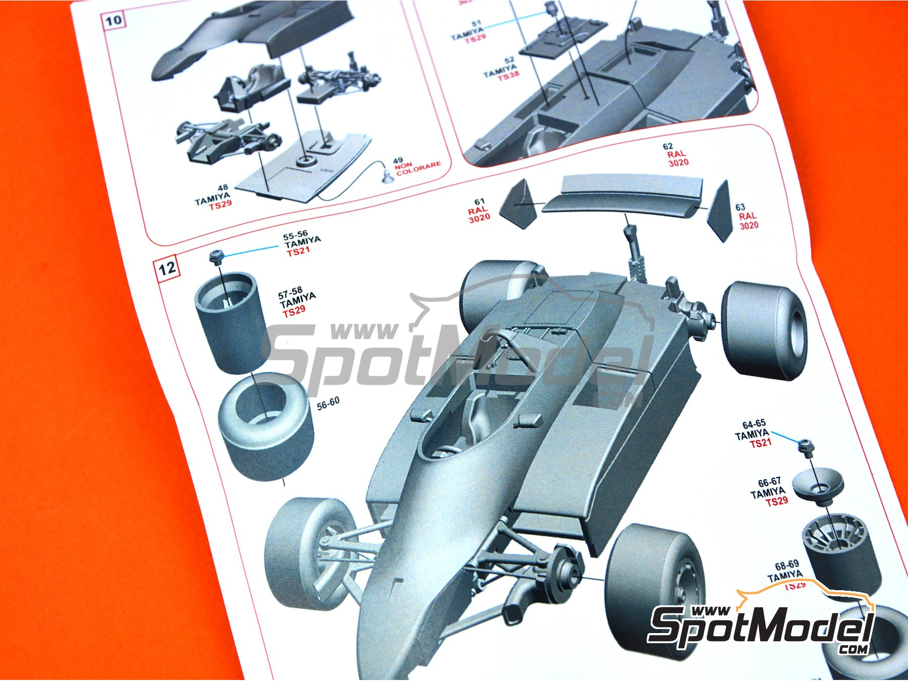Image 8: Brabham Ford BT49 Parmalat - Gran Premio de Canada 1979 | Maqueta de coche en escala1/43 fabricado por Tameo Kits (ref.SLK110)