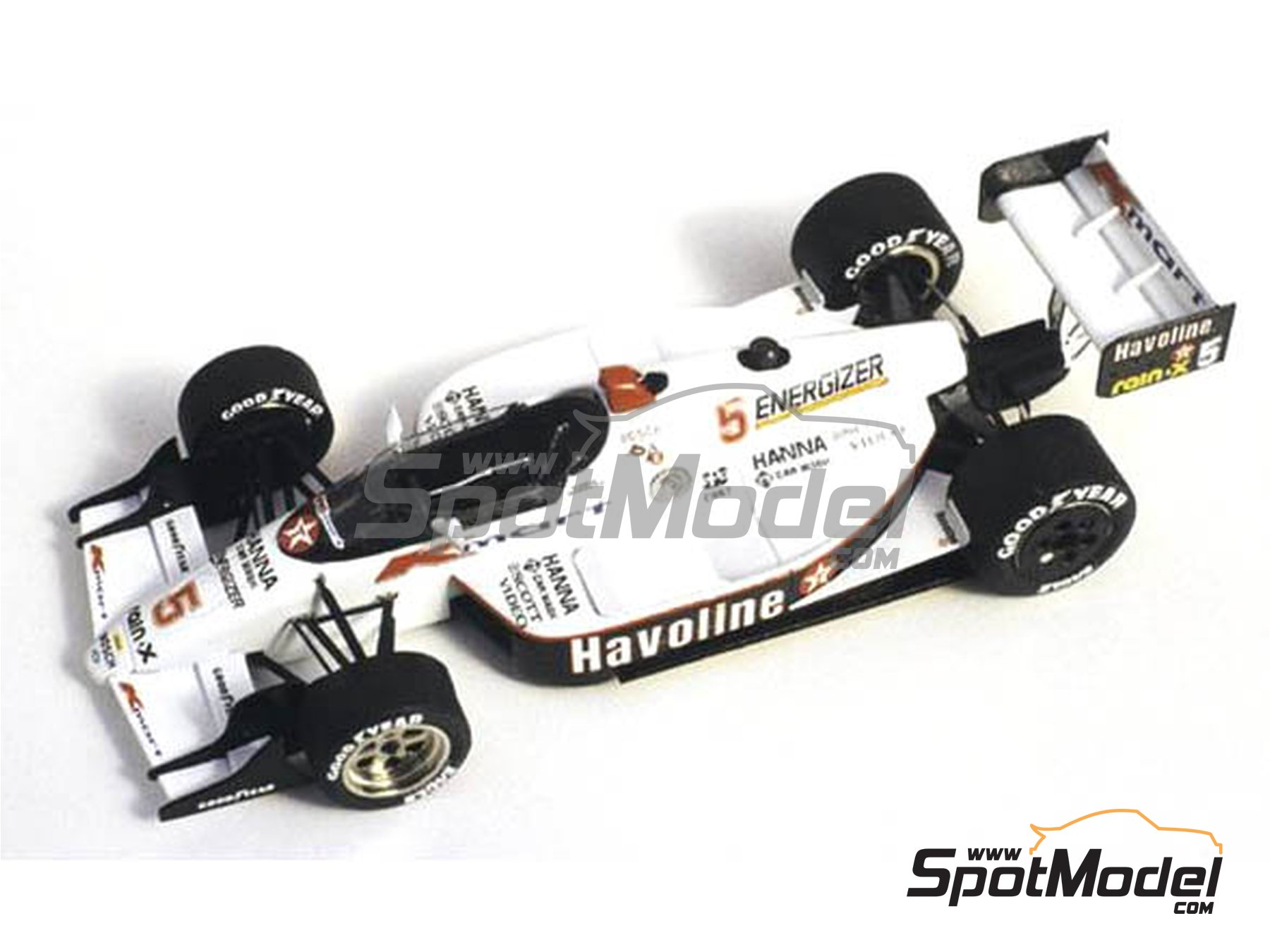 Image 1: Lola Chevy T89 Havoline  K-Mart Newman Haas Racing - Indy 1989 | Model car kit in 1/43 scale manufactured by Tameo Kits (ref.TIK008)