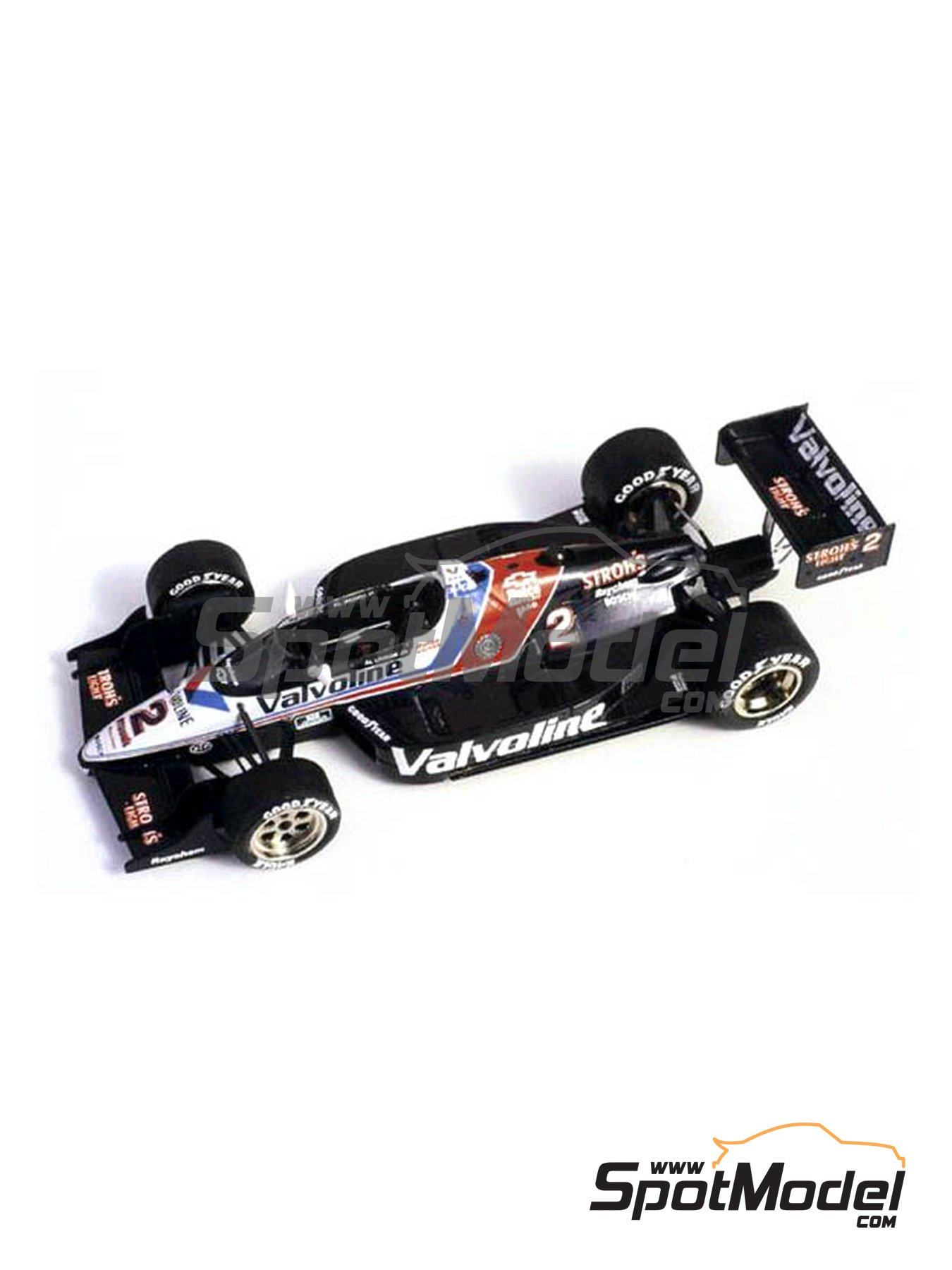 Lola Chevy T89 Valvoline - Indy 1989 | Model car kit in 1/43 scale manufactured by Tameo Kits (ref.TIK009) image