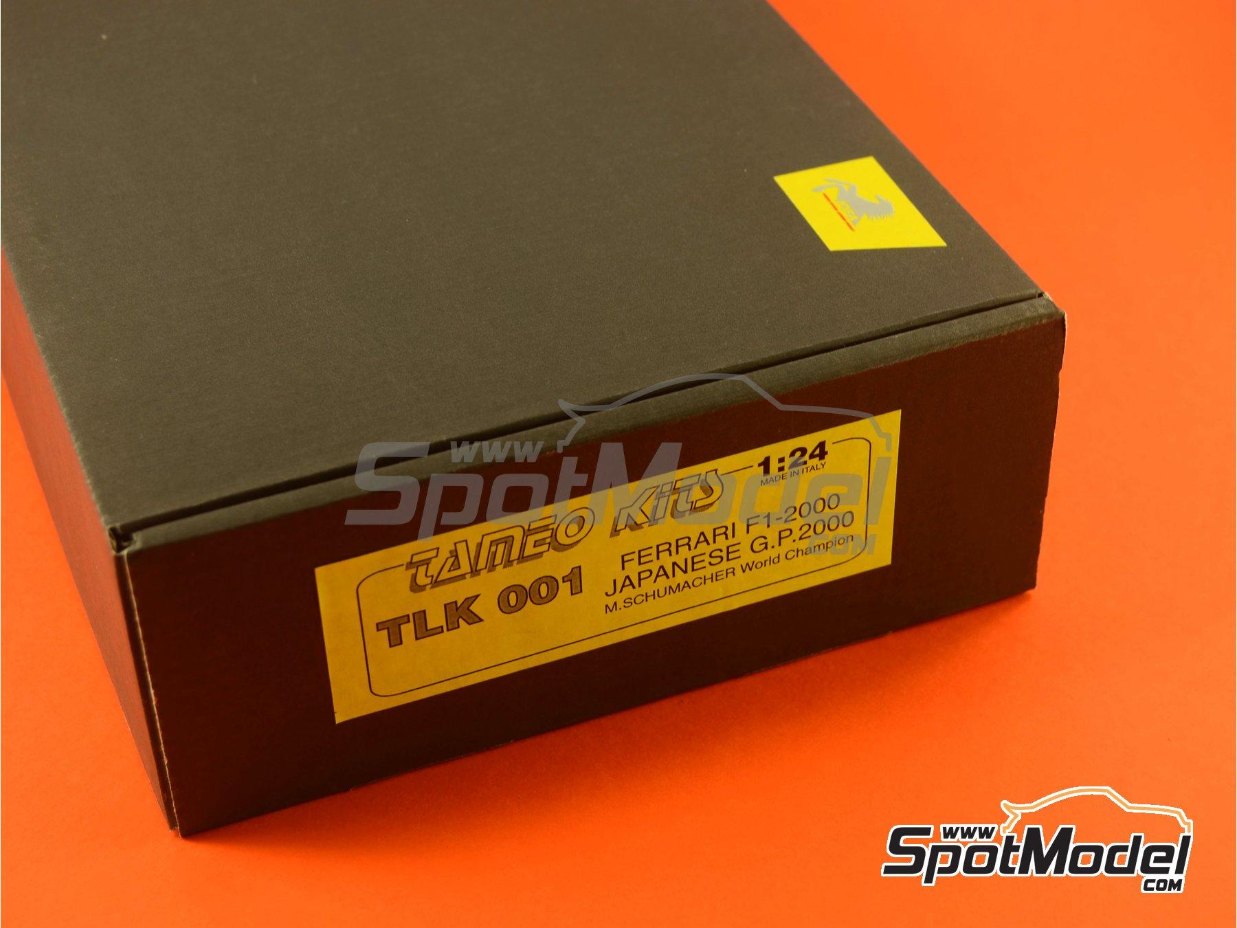 Image 1: Ferrari F1 2000 Marlboro - Japanese Formula 1 Grand Prix 2000 | Model car kit in 1/24 scale manufactured by Tameo Kits (ref.TLK001)