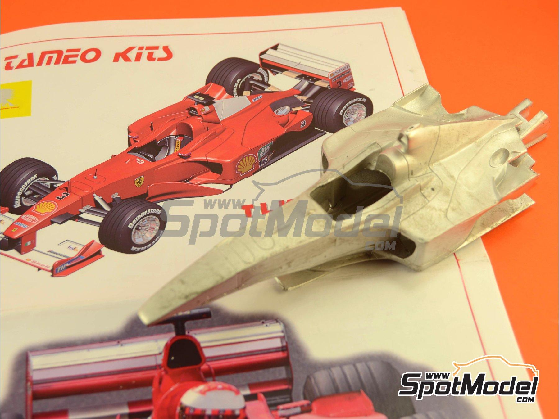 Image 7: Ferrari F1 2000 Marlboro - Japanese Formula 1 Grand Prix 2000 | Model car kit in 1/24 scale manufactured by Tameo Kits (ref.TLK001)