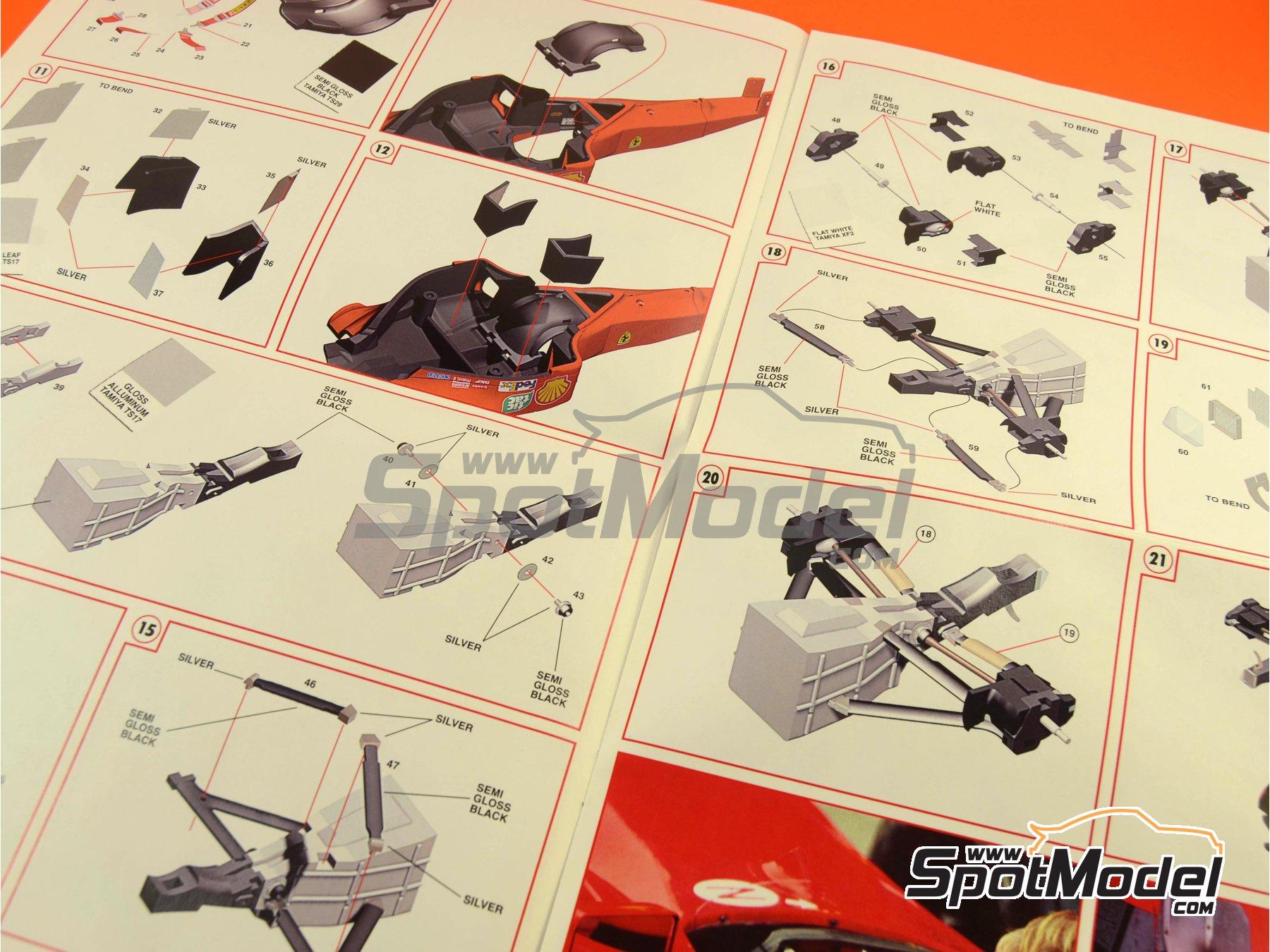 Image 17: Ferrari F1 2000 Marlboro - Japanese Formula 1 Grand Prix 2000 | Model car kit in 1/24 scale manufactured by Tameo Kits (ref.TLK001)