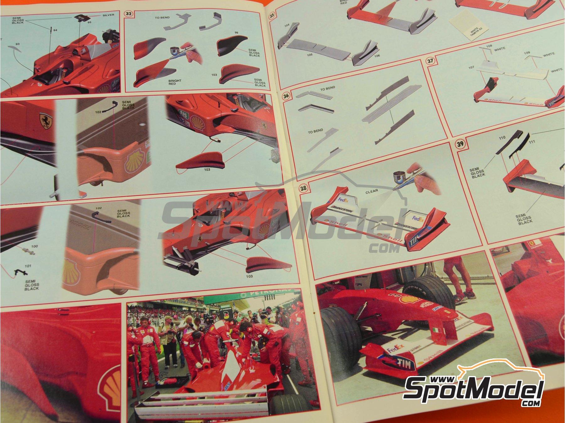 Image 16: Ferrari F1 2000 Marlboro - Gran Premio de Fórmula 1 de Malasia 2000 | Maqueta de coche en escala1/24 fabricado por Tameo Kits (ref.TLK002)