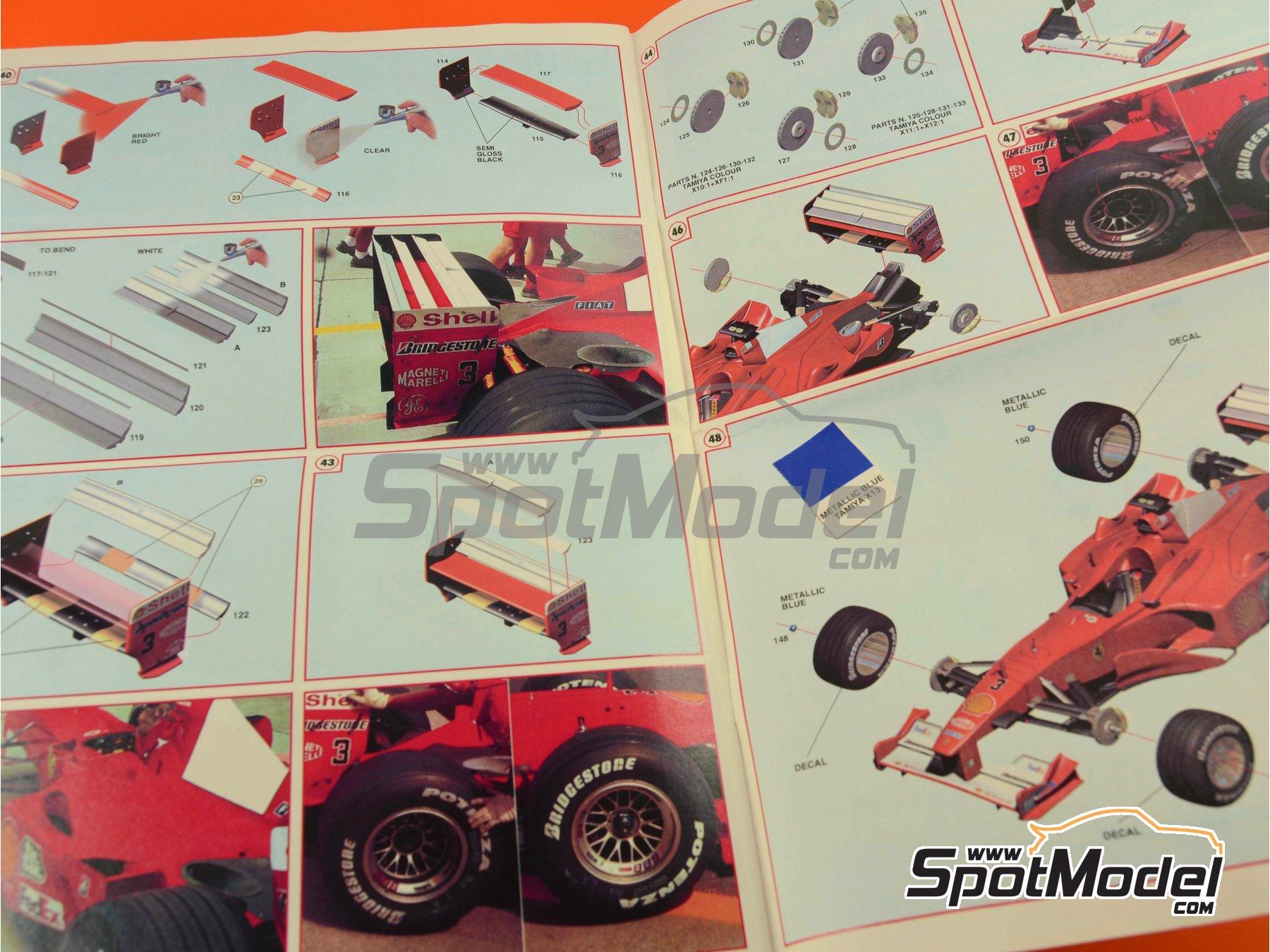 Image 17: Ferrari F1 2000 Marlboro - Gran Premio de Fórmula 1 de Malasia 2000 | Maqueta de coche en escala1/24 fabricado por Tameo Kits (ref.TLK002)