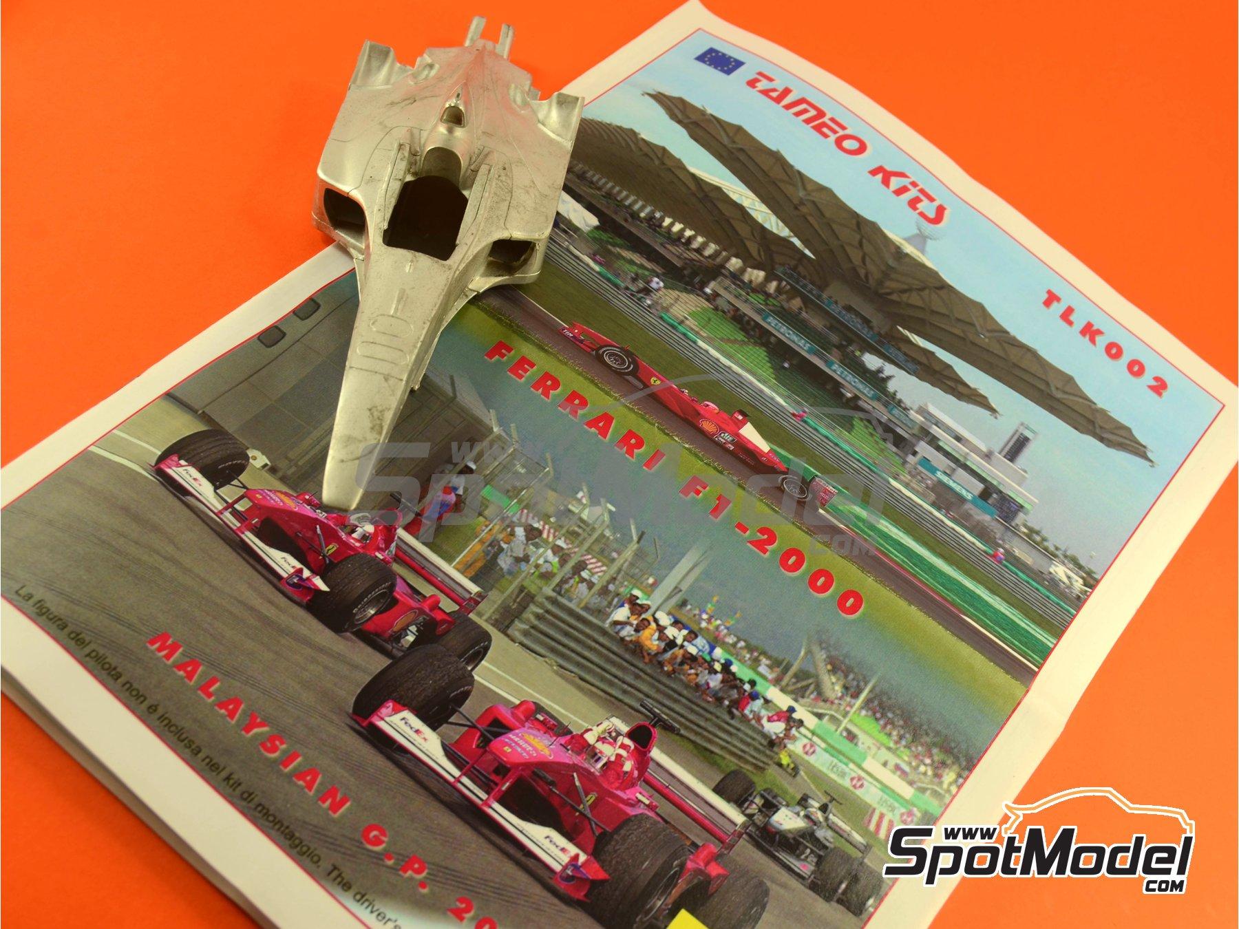 Image 19: Ferrari F1 2000 Marlboro - Gran Premio de Fórmula 1 de Malasia 2000 | Maqueta de coche en escala1/24 fabricado por Tameo Kits (ref.TLK002)