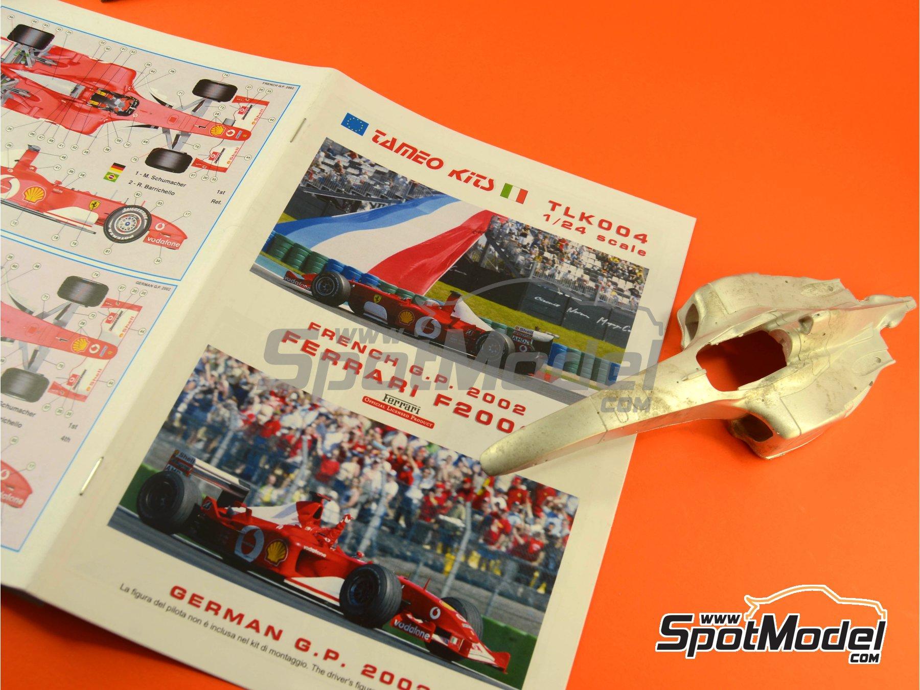 Image 15: Ferrari F2002 Marlboro - Gran Premio de Francia 2002 | Maqueta de coche en escala1/24 fabricado por Tameo Kits (ref.TLK004)