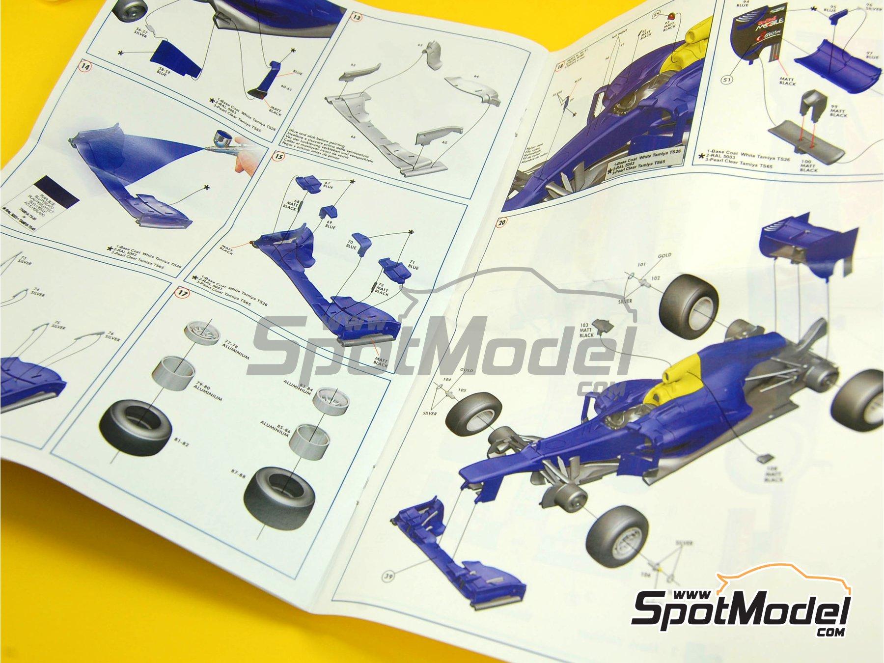 Image 2: RB Racing Renault RB8 - Gran Premio de Formula 1 de Mónaco 2012   Maqueta de coche en escala1/43 fabricado por Tameo Kits (ref.TMK408)