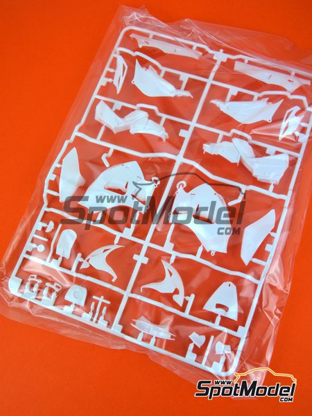 Honda RC213V: A parts (except A27) | Spare part in 1/12 scale manufactured by Tamiya (ref.TAM14130-SPRUE-A) image