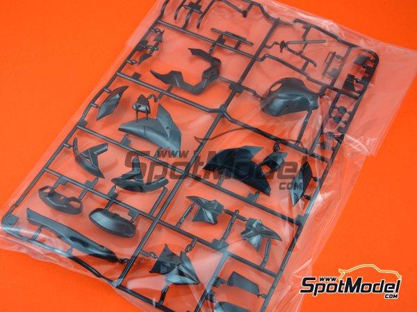 Image 1: Kawasaki Ninja H2R: Partes A | Pieza de reemplazo en escala1/12 fabricado por Tamiya (ref.19000930)