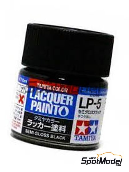 Semi gloss black LP-5 | Lacquer paint manufactured by Tamiya (ref. TAM82105) image