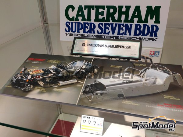 Image 1: Caterham Super Seven BDR | Model car kit in 1/12 scale manufactured by Tamiya (ref. TAM10204)